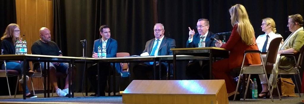 Boris Pistorius Claudio Provenzano und Rüdiger Kauroff