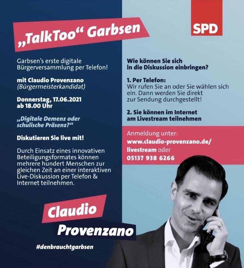 Claudios Telefonaktion am 17.06.2021
